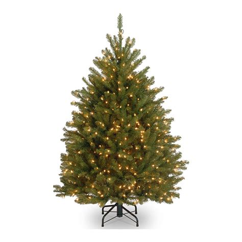 National Tree Pre Lit Dunhill Fir Hinged - Sears Com.